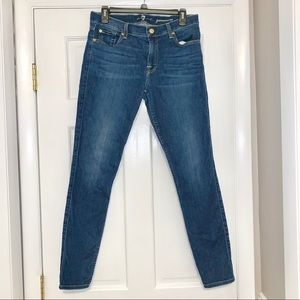 7 for All Mankind jeans, Gwenevere skinny